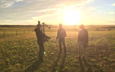 Last Stop to Armageddon films in rural Manitoba